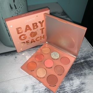 Baby Got Peach Colourpop Eyeshadow Palette